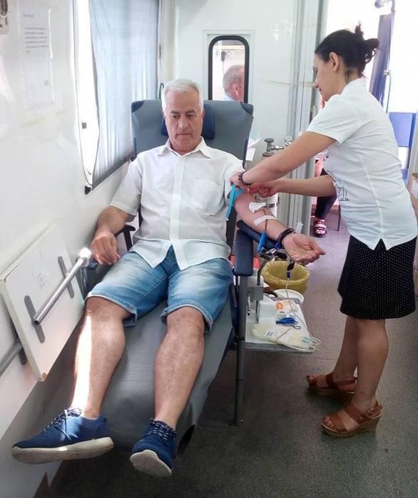 Εθελοντική αιμοδοσία από τους ποδοσφαιριστές και το τεχνικό επιτελείο της Παναχαϊκής!