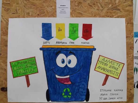 """Αίγιο: Mε επιτυχία το πρόγραμμα """"Ανακυκλώνω - Δημιουργώ και Προστατεύω"""" (pics)"""