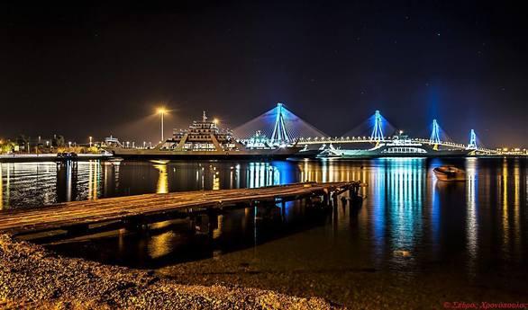 Νυχτερινές περιπλανήσεις με φόντο τη Γέφυρα Ρίου - Αντιρρίου!
