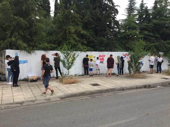 Η Art in Progress συνεχίζει να φέρνει το κοινό της Πάτρας πιο κοντά στην street art!