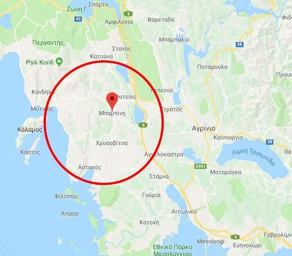 Ανθρωποκυνηγητό στην Αιτωλία για τον Μπαρμπαρούση