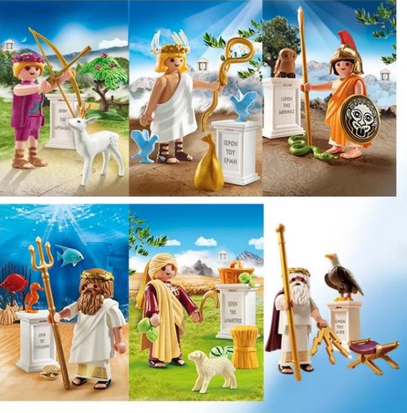 Playmobil με άρωμα Ελλάδας