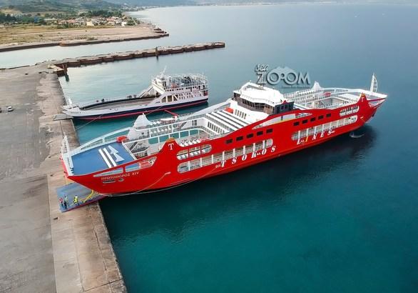 Το εντυπωσιακό πλοίο που ξεκίνησε δρομολόγια στο Ρίο - Αντίρριο (pics)