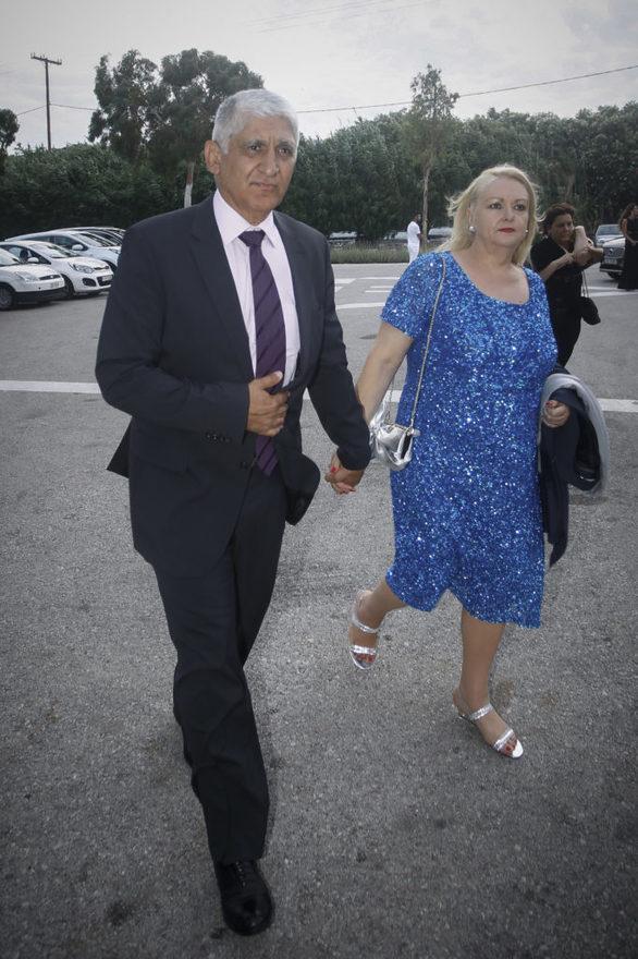 Ο Παναγιώτης Γιαννάκης με την σύζυγό του