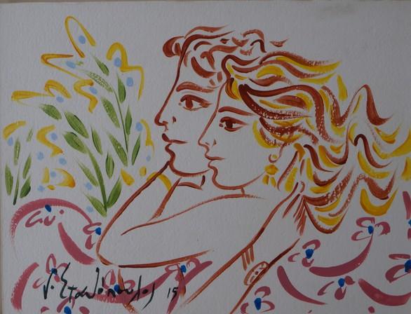 Αύρα ζωής και χαράς στη γκαλερί Art Lepanto στο λιμανάκι της Ναυπάκτου (pics)