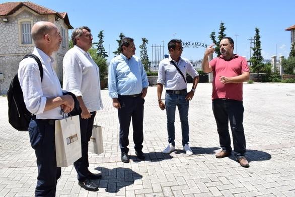 Το Καρναβαλικό Πάρκο είναι εδώ! - Επίσκεψη δημάρχου, φορέων και Ιταλών στα παλαιά Σφαγεία (pics)