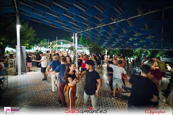 Every Monday Blue Horizon Salsa Tango Reunion at Πλαζ EOT 16-07-18 Part 1/2