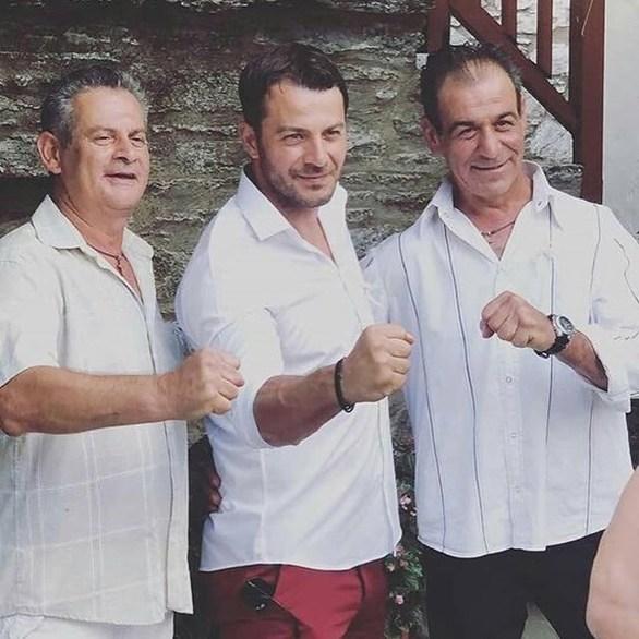 Στη Σκιάθο o Γιώργος Αγγελόπουλος, για τη βάπτιση του ανιψιού του! (φωτο)