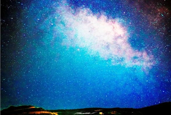 Ο εντυπωσιακός έναστρος ουρανός από τη Ζάστοβα της Πάτρας!