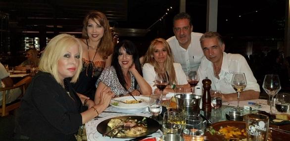 Η Τίνα Σακελλάριου επισκέφθηκε την Πάτρα (φωτο)