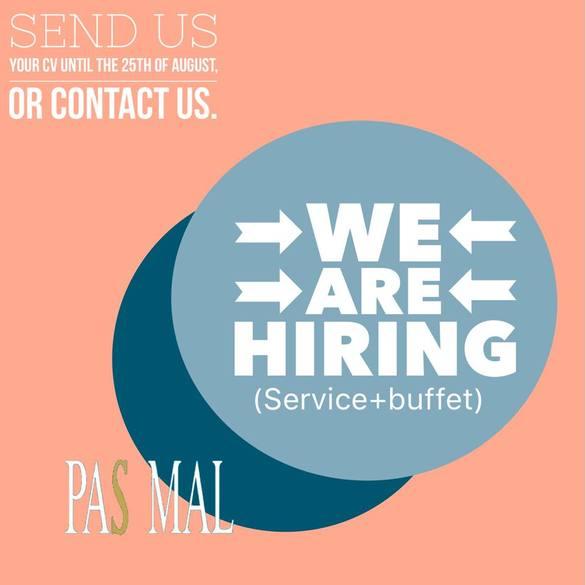 Το Pas Mal στην Ηρώων Πολυτεχνείου αναζητά άτομα για εργασία!