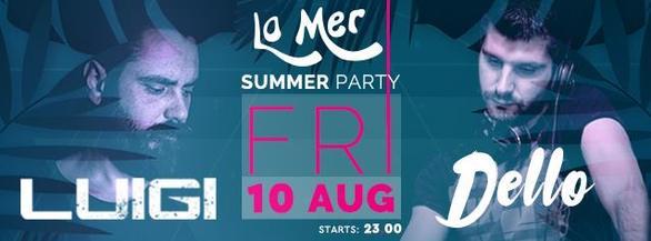 Summer Night Party at La Mer