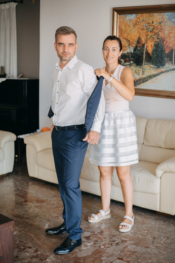 Παντελής & Χρύσα - Αυγουστιάτικος γάμος στο δημαρχείο της Πάτρας! (φωτο)
