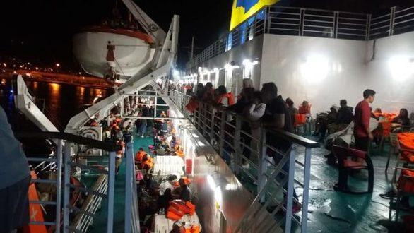 """Πατρινοί μεταξύ των επιβατών του πλοίου """"Ελευθέριος Βενιζέλος"""" που πήρε φωτιά"""