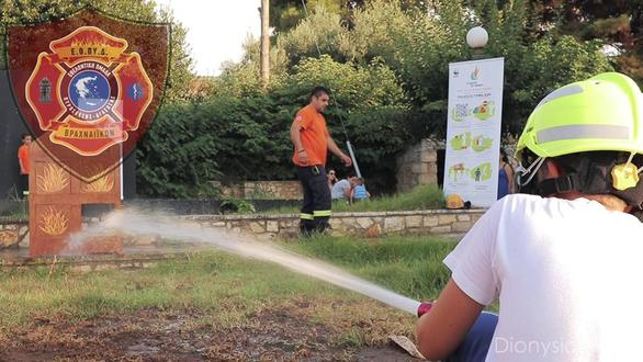 """""""Η φωτιά σε αφορά - Παιχνίδι για Παιδιά"""" στο Σταθμό ΟΣΕ Βραχναίικα"""