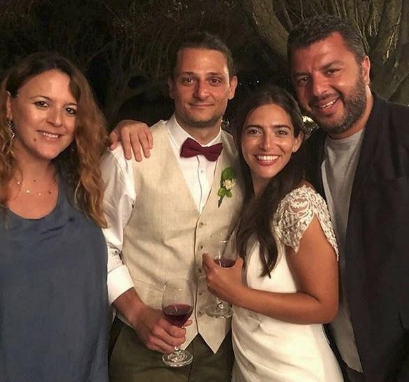 Ο Γιώργος Χωραφάς πάντρεψε την κόρη του στην Κεφαλονιά! (φωτο)