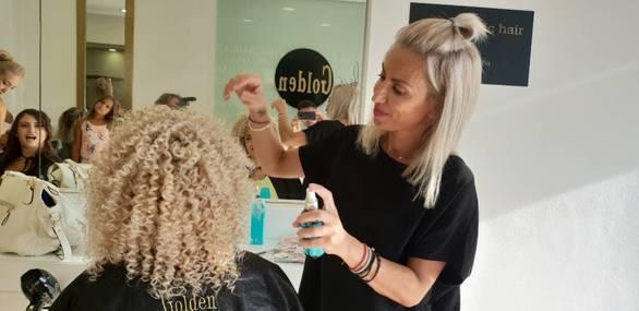 """Ένα από τα καλύτερα κομμωτήρια της χώρας η Πατρινή επιχείρηση """"Golden Chic Hair""""!"""