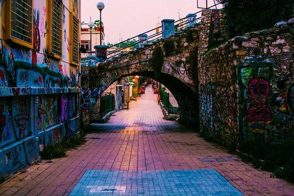 Οι όμορφοι πεζόδρομοι της Πάτρας που διασχίζουμε καθημερινά!