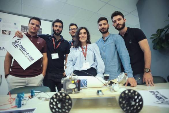 """Φοιτητές του Πανεπιστημίου Πατρών στον διεθνή διαγωνισμό """"Chem - E - Car"""" (pics+video)"""