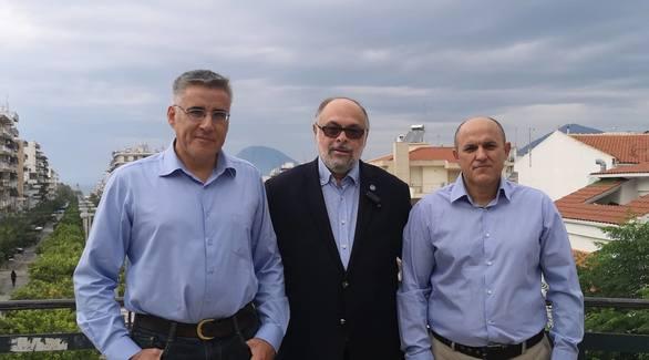Πάτρα - Ο Κωνσταντίνος Τσάμης και ο Γεώργιος Ανδρικόπουλος υποψήφιοι με το Νίκο Τζανάκο!