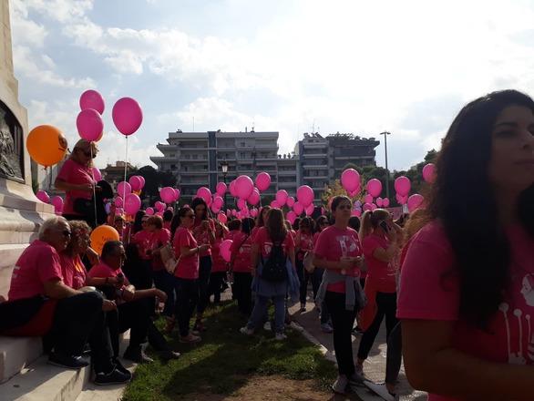 Πάτρα: Μεγάλη συμμετοχή στο ραντεβού του Pink the City (pics)