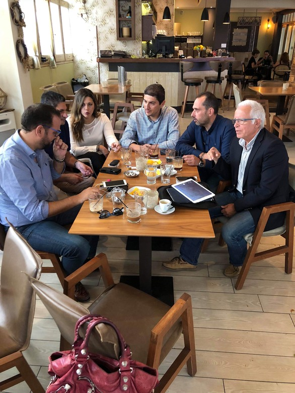 Συνάντηση Αυγενάκη με Φαρμάκη και προέδρους των ΝΟΔΕ Δυτικής Ελλάδας