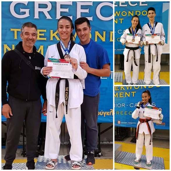 Πρωταγωνίστρια η Δύναμη Πατρών στο G1 - Greece Οpen Taekwondo Tournament!