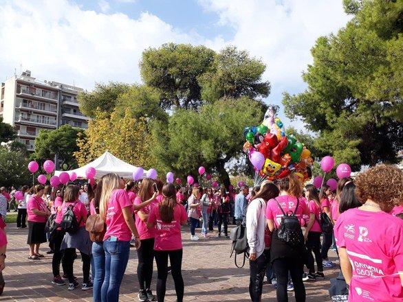"Pink the City 2018 - Άγγιξε τις 11.000 ο κόσμος που ""πλημμύρισε"" τους δρόμους της Πάτρας!"