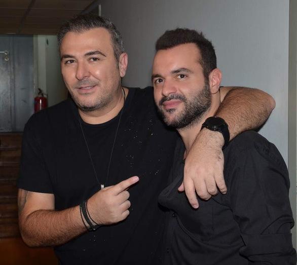 Ο Αντώνης Ρέμος με τον CEO της Panik Entertainment Group, Γιώργο Αρσενάκο