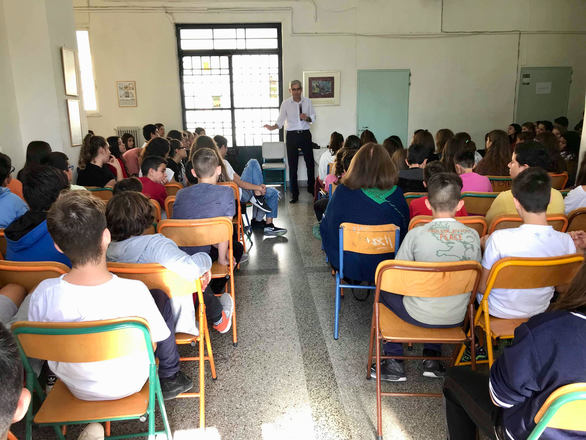 Ο Άγγελος Τσιγκρής μίλησε για τη σχολική βία στο 7ο Γυμνάσιο της Πάτρας (φωτο)
