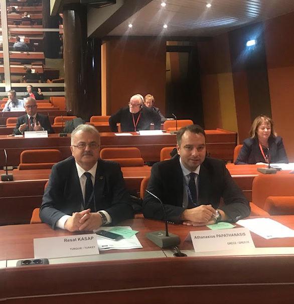 Δυτική Ελλάδα: O Θανάσης Παπαθανάσης στο Κογκρέσο Τοπικών Αρχών του Συμβουλίου της Ευρώπης (pics)