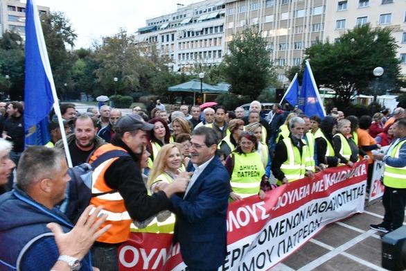 Πάτρα: Ο Πελετίδης στην συγκέντρωση των παρατασιούχων στους Δήμους στην Αθήνα (pics)
