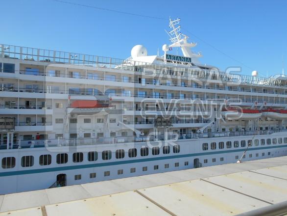 """Τι άφησε στην Πάτρα η άφιξη 1.000 και πλέον τουριστών από το κρουαζιερόπλοιο """"Artania"""" (pics)"""