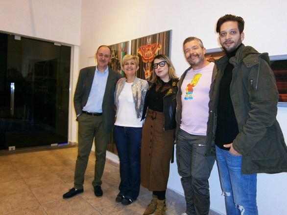 Πάτρα - Με επιτυχία τα εγκαίνια της έκθεσης του Κωνσταντίνου Πάτση (φωτο)