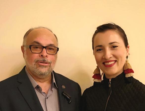 Η Ελένη Μπινιέρη-Κυπριανού, υποψήφια με το Νίκο Τζανάκο!