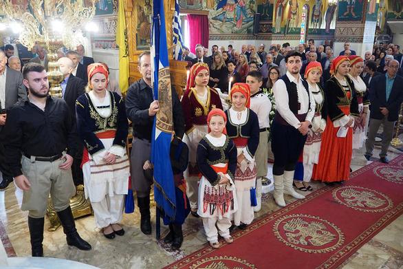 Ο Σύλλογος Κρητών Πάτρας τίμησε την 152η επέτειο του Ολοκαυτώματος της Ιεράς Μονής Αρκαδίου (φωτο)