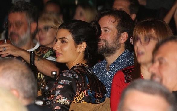 Τόνια Σωτηροπούλου - Κώστας Μαραβέγιας: Bραδινή έξοδος για το ζευγάρι (φωτο)