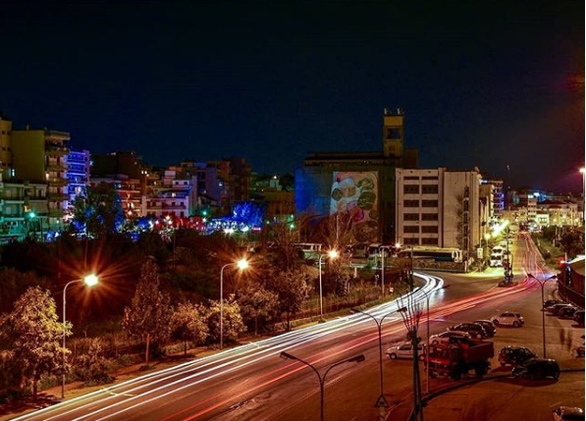 "Oι ""φωτεινοί"" δρόμοι της Πάτρας (pics)"
