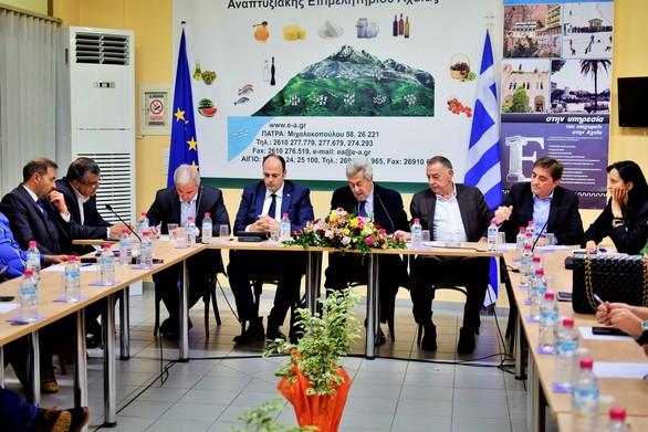 Δυτική Ελλάδα: Πραγματοποιήθηκε η 4η Συνεδρίαση του Περιφερειακού Επιμελητηριακού Συμβουλίου στο Αίγιο