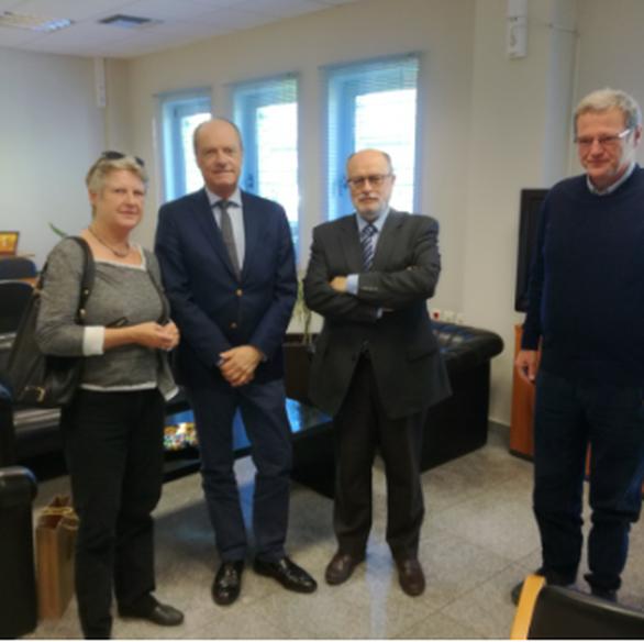 Πάτρα: Επίσκεψη του Πρέσβη της Δανίας στο λιμάνι