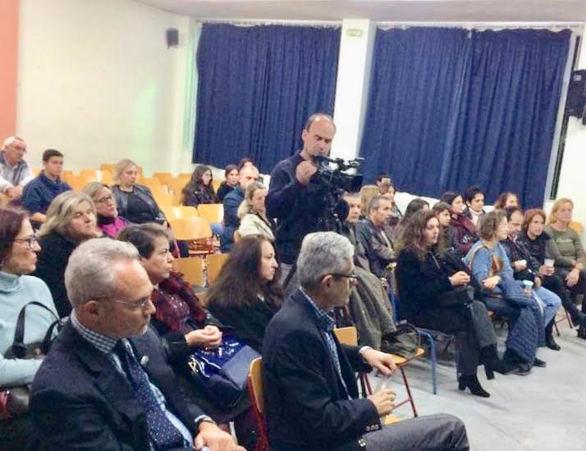 Πάτρα: Ο Άγγελος Τσιγκρής μίλησε για τη σχολική βία και τον εκφοβισμό (pics)