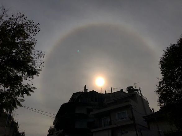 Αγρίνιο: Ένα μοναδικό ηλιακό φαινόμενο εμφανίστηκε στον ουρανό