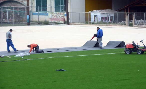 """Ένα """"νεκρό"""" γήπεδο της Πάτρας, """"ανθίζει"""" και ανοίγει μετά από χρόνια! (pics)"""