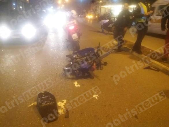 Πύργος: Τροχαίο ατύχημα με έναν τραυματία (φωτο)