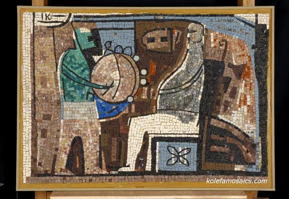 Πάτρα - Η τέχνη του ψηδιδωτού σε μια έκθεση στην Δημοτική Πινακοθήκη