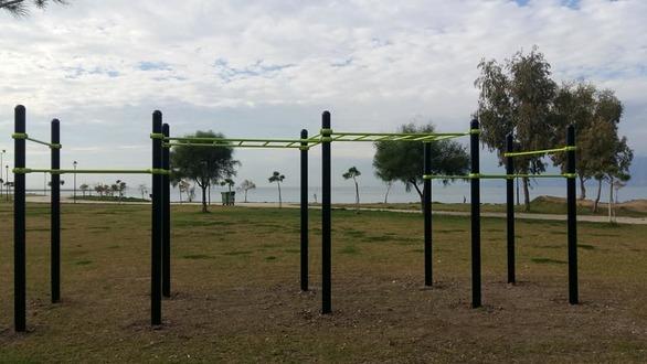 Πάρκο καλλισθενικής αγωγής στην Πάτρα - Δείτε φωτογραφίες