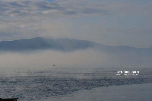 Ένα εντυπωσιακό φαινόμενο παρουσιάστηκε στο Ναύπλιο (pics+video)