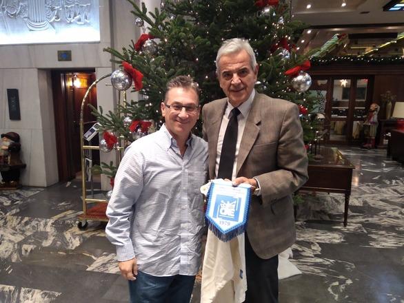 Πάτρα - Ο Γρηγόρης Αλεξόπουλος συναντήθηκε με την Ομοσπονδία χειροσφαίρησης