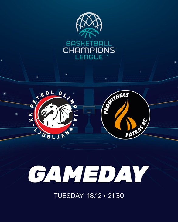 Basketball Champions League - Εκτός έδρας αποστολή για τον Προμηθέα Πατρών