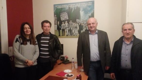 Συνάντηση μελών της ΕΕΤΕΜ Αχαΐας με το βουλευτή του ΚΚΕ, Νικόλαο Καραθανασόπουλο (φωτο)